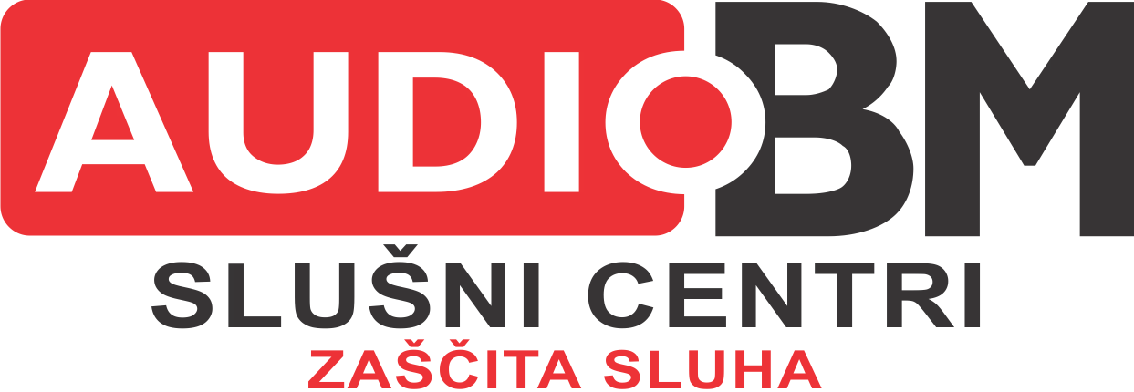AUDIO BM zascita sluha logotip